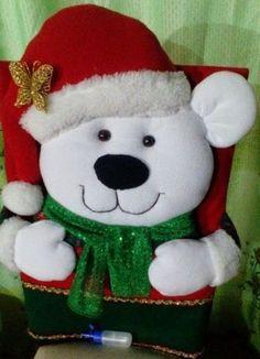 Best 12 Molde papai noel para imprimir - Criativo Ok Felt Christmas, Christmas Snowman, Christmas Projects, Christmas Time, Christmas Stockings, Christmas Ornaments, Christmas Christmas, Angel Crafts, Snowman Crafts