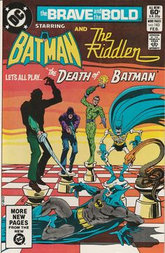 Brave & the Bold Vol. 28 No. 183  1982  Batman and the Riddler by TheSamAntics