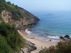 Playa de Aramal, en Pechón (Cantabria)