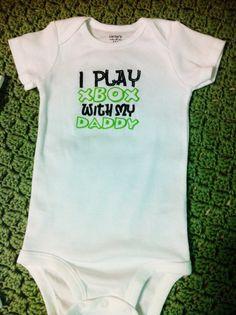 XBOX ONESIE  I Play Xbox With My Daddy  Funny by MawMawMadeIt, $14.00