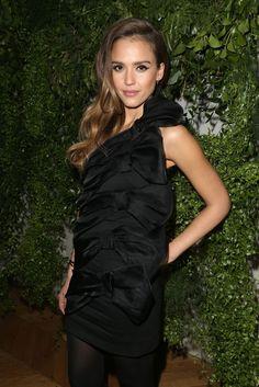 Jessica Alba at the Valentino Paris Dinner