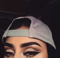 Imagem de makeup, eyes, and eyebrows