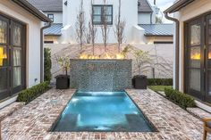 Having a pool sounds awesome especially if you are working with the best backyard pool landscaping ideas there is. How you design a proper backyard with a pool matters. Pools For Small Yards, Small Swimming Pools, Small Backyard Pools, Backyard Pool Landscaping, Swimming Pools Backyard, Swimming Pool Designs, Backyard Ideas, Porch Ideas, Lap Pools