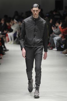 Ash/Black Man Sack Boots   Vivienne Westwood AW 14/15 MAN Collection, Milan Fashion Week