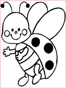 Cute Drawings Coloring Sheets Lady Bug Pages Crafts