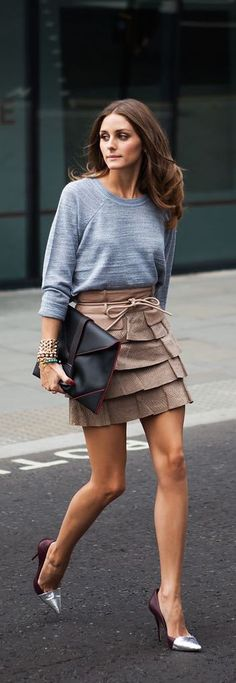 Olivia Palermo street style. This outfit is a summer staple!