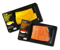 The Saucy Fish Co. #Fish #Packaging