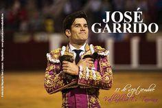 Una feria con cabida para los jóvenes como el matador de toros extremeño José Garrido   Taquillas 👉 10 -14h. y 18 - 21h. #Septiembre2016 #ValladolidEsTaurina #TienesQueVenir #FeriaTaurina #NuestraSeñoraDeSanLorenzo