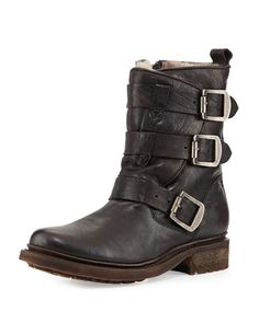 Valerie Shearling-Lined Boot at CUSP.