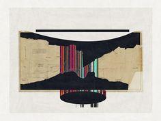 Abstract composition 446 modern art minimal art by jesusperea
