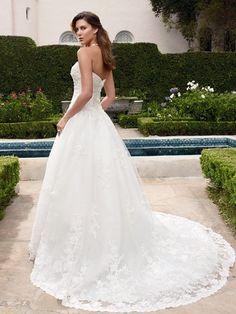 Casablanca Bridal 2017 back