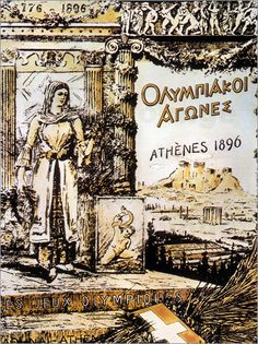 """Bild von Louis Hersent - """"Olympic Games, 1896."""""""