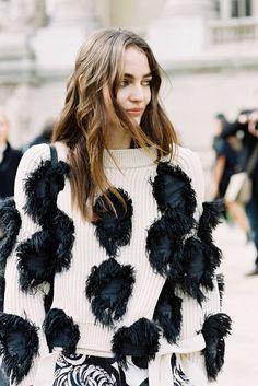 Paris Fashion Week AW 2015....Zuzanna | Vanessa Jackman | Bloglovin'