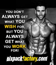 Fitness Motivational Quote Gym
