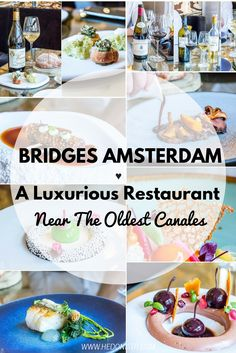 A seafood Michelin stared restaurant in Amsterdam - An elite restaurant near the oldest canals of the city - a must eat when in Amsterdam! Click through to read the full review @ http://www.hedonistit.com