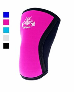 Squatting Knee Sleeves Crossfit Knee Sleeves Squatting Pad Knees Support Crossfit Best Undersleeve For Knee Workout Wrestling Knee Sleeve Premium Knee Sleeves For Men And Women Pink XL - Brought to you by Avarsha.com