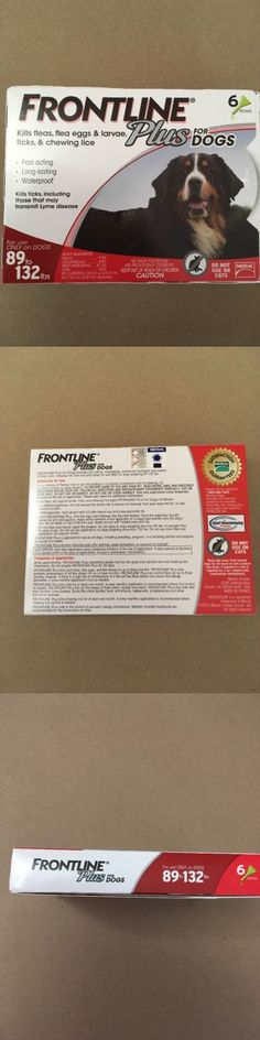 Flea and Tick Remedies 20749: Frontline Plus Blue For Dogs 89 - 132 Lbs. - 6 Doses Free Shipping :) -> BUY IT NOW ONLY: $58.88 on eBay!