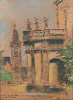Jan Dědina - Kostel sv. Ignáce na Karlově náměstí v Praze