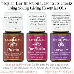 Young Living Essential Oils: Ear Infection by RuLo