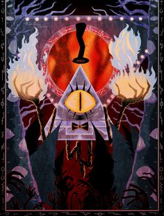 Bill Cipher is just flat out AWESOME. It really shows (when done right) even the most simple of designs can be great and even terrifying. I have so much love for Gravity Falls and I'm happy to add this to the list of posters.Next up is Frieza Gravity Falls Bill Cipher, Gravity Falls Art, Hirsch Illustration, Gavity Falls, Desenhos Gravity Falls, Pinecest, Dipper And Mabel, Mabel Pines, Bipper