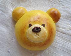Bear Bun (Japanese Recipe) Adorable!