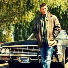 Dean and Baby #Supernatural