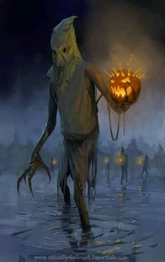 Hayman. The old magicks of the Adan speak of a night before the coming of winter when evil spirits walk in the bodies of the guardians of the fields.