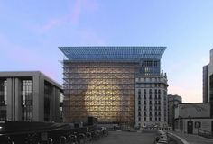European Council and Council of the European Union, Brussels, 2016 - Philippe Samyn and partners, Studio Valle Progettazioni, Buro Happold Engineering