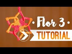 Flor 3 / Tutorial de macramé ♥︎ - YouTube