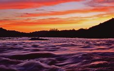 Sunset on the Potomac - Harpers Ferry, West Virginia