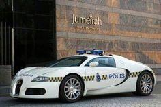 Veyron police car