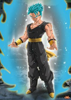 Hooy  Well I wanted to do something with Black Goku, so.. Why not x). At this point on DBS I think it's the body of Mirai Goku which is used by the unknown Kaio named as Zamasu. Still d...