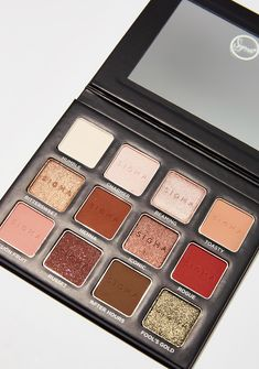 Sigma Warm Neutrals 2 Eyeshadow Palette cuz keep ya face cute af! Keep ya face on point with this eyeshadow palette that has twelve warm shades to do what you please.