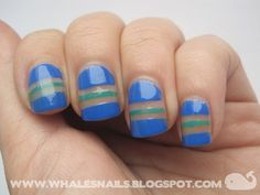 stripes by Whale'sNails