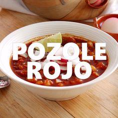 Pork Recipes, Chicken Recipes, Cooking Recipes, Healthy Recipes, Hominy Recipes, Cooking Tips, Pasta Recipes, Mexican Cooking, Mexican Food Recipes