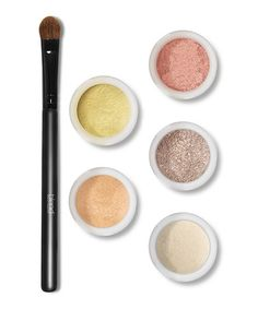 Another great find on #zulily! Champagne Eye Shadow Set by Blend Mineral Cosmetics #zulilyfinds