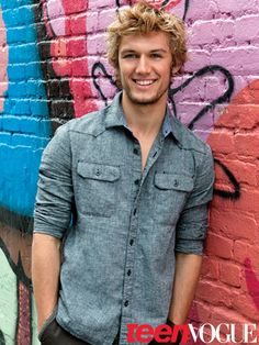 Alex Pettyfer. Love him. Beyond good looking! And that smile makes me melt!