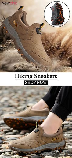 50%off Men Slip On Shock Absorption Non-slip Outdoor Hiking Casual. Knit ShoesMens  Fashion ... a296cd27b