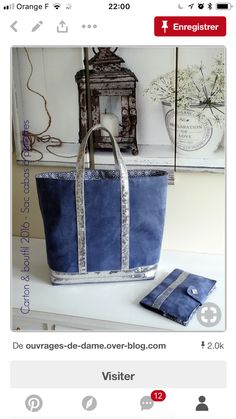 Coin Couture, Couture Sewing, Sac Vanessa Bruno, Tods Bag, Diy Handbag, Tote Pattern, Denim Bag, Fabric Bags, Shopper