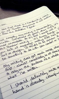 #moleskine #notebook #handwriting