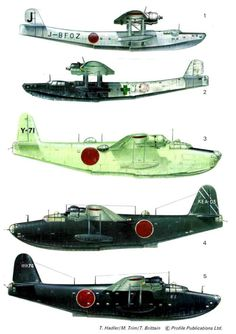 Kawanishi 4-Motor Flying Boats (233) Page 18-960