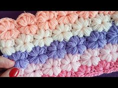 Çiçek Lif, Battaniye,Yelek / Crochet Flower Blanket You are in the right place about Knitting humor Here we offer you the most beautiful pictures about. Knitting Blogs, Easy Knitting, Knitting Stitches, Knitting Patterns, Crochet Patterns, Easy Crochet, Crochet Baby, Manta Crochet, How To Start Knitting