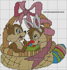 Easter Chip & Dale 1 of 2