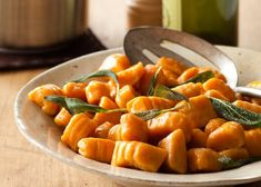 sweet potato gnocchi...yum!