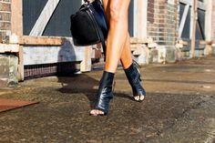 open toe booties: part deux ~ THE VERSASTYLE