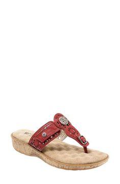 SoftWalk® 'Beaumont' Sandal (Women)