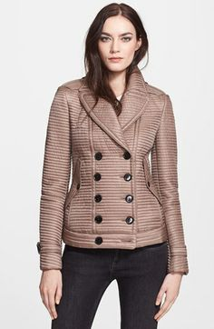 Burberry London Quilted Puffer Jacket available at #Nordstrom