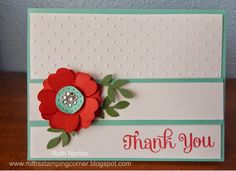 Ruth's Stamping Corner: Sometimes A Flower IS A Flower