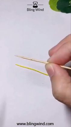Try this DIY tutorial. Just a toothpick can help you complete the job quickly.