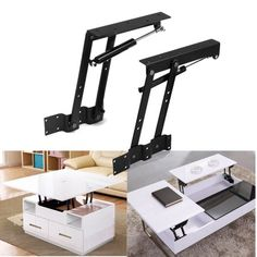 Lift Up Top Coffee Table Lifting Frame Mechanism Sprin .- Lift Up Top Coffee Table Lifting Frame Mechanism Spring Hinge Hardware DIY 1 Pair Lift Up Coffee Table Lifting Mechanism Frame Hardware Hinge Spring DIY Coffee Table Hinges, Coffee Table Hardware, Lift Up Coffee Table, Coffee Table Furniture, Diy Coffee Table, Modern Coffee Tables, Furniture Hinges, Diy Furniture, Furniture Design